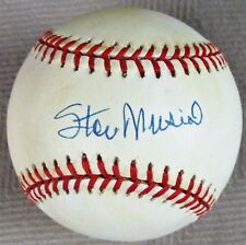STAN MUSIAL {1920-2013} Signed Official Jackie Robinson Anniversary NL Baseball
