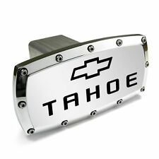Chevy Tahoe Logo Chrome Billet W/ Allen Bolts Tow Hitch Cover