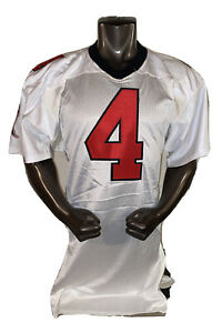 "Atlanta Falcons Brett Favre Reebok NFL Away White Jersey Size 44 +2"" length"