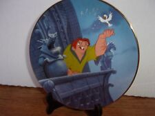 "The Hunchback Of Notre Dame ""A Good Day To Fly"" Collectors Plate"