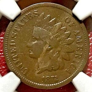 1872 INDIAN HEAD CENT NGC VG-8 BN