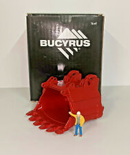 Sword Models Bucyrus 495HF Bucket Trailer Load. In Red 1/50th.