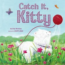 Very Good 0857804308 Paperback Catch it, Kitty! (Picture Flats) Igloo