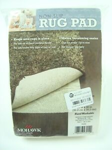 """Mohawk Rug Pad Home Non-Slip 20"""" x 30""""  Fits Rugs Up To 2' x 3' New"""