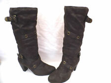 Atmosphere Suede Upper Block Pull On Boots for Women