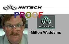 MILTON / OFFICE SPACE LAMINATED Novelty ID ~ FREE SHIPPING ~