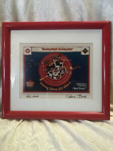 Looney Tunes All-Stars Upper Deck Print Signed Autographed by Chuck Jones