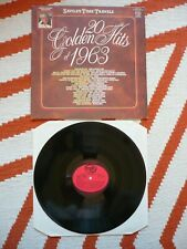 V/A Jimmy Savile's Time Travels 20 Golden Hits Of 1963 Vinyl UK MFP A1/B1 LP EXC