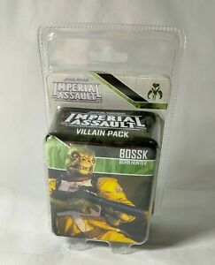 Star Wars Imperial Assault Villain Pack Bossk Born Hunter English
