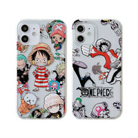 Anime Luffy Cute One Piece Fall proof Phone Case For iPhone 11 12 Pro Max Mini