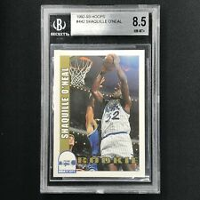 1992-93 Hoops SHAQUILLE O'NEAL #442 Rookie BGS 8.5