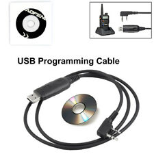 Useful Software CD 2 Pins USB Programming Cable For Baofeng UV-5R BF-888S Radios