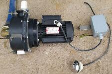 JACUZZI SPA POOL BATH SHOWER PUMP MARCANT ME75 800WATT MOTOR IN VGC