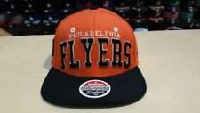 cccd1c707b3 NHL Philadelphia Flyers Team Name and Logo 2 Tone Orange Retro Snapback Cap  Hat