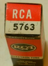 5763 Ge Electron Tube Nos With Rca Box Tested Good & Bad Used