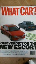 What Car magazine - October 1990