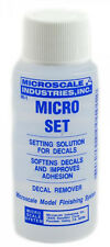 Microscale MI-1 Micro Set decal setting solution, 1oz. bottle