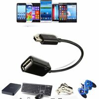 Mini USB Host OTG Adaptor Adapter Cable For Velocity Micro Cruz Tablet eReader