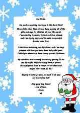 Blue Snowflake Personalizado Navidad Carta De Santa