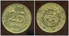 PHILIPPINES  25 sentimo 2000