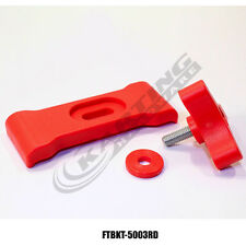 Fuel Tank Quick Release Mounting Bracket Kit (Red), Go Kart Racing, Euro, Gas