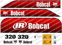 BOBCAT 320D MINI DIGGER DECAL SET