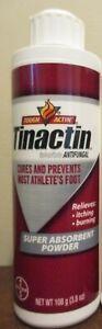 Tinactin by bayer Antifungal Super Absorbent Powder 3.8 oz 8/21