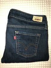 KL104 Womens LEVI'S 545 Low Boot Stretch Jeans Size 6M(31x31)
