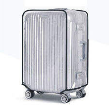 "Clear PVC Waterproof Luggage Cover Protector for size 22"" US Seller Brand New"