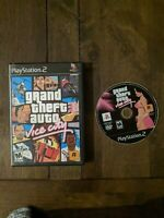 Grand Theft Auto: Vice City, CASE & GAME, TESTED, (Sony PlayStation 2, 2002)