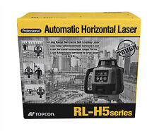 Topcon Rl H5b Self Leveling Horizontal Rotary Laser Level Kit With Ls 80l Receiver
