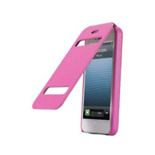 JisonCase Premium Leatherette Flip Case for iPhone 5