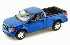 2010 Ford F-150 STX Blue Pickup Truck 1:27 Diecast  w/Opening  Doors Tailgate