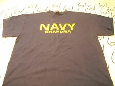 Large-  Soffe Navy Grandpa Blue T- Shirt