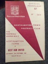 Teams S-Z First Division West Ham United Football Programmes