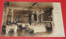 CPA CARTE POSTALE 1910-1920 ANNECY GRAND HOTEL ANGLETERRE SALLE A MANGER