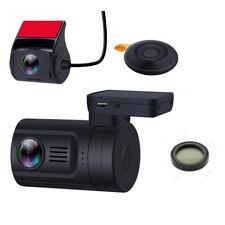 Mini 0906 Car Dash Camera Dual 1080P Lens  GPS DVR Recorder Remote+ CPL Filter