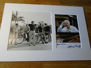 George Martin The Beatles Genuine Signed Authentic Autograph - UACC / AFTAL.