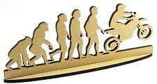 Motorcross Motorbike DADDY FATHERS DAY GIFT MDF plaque Craft Grandad Evolution