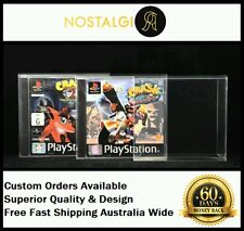 1× BOX PROTECTOR FITS SONY PS1 GAME FAT CASE / HIGH QUALITY EXTRA THICK PET
