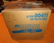 1991 Fleer Baseball Cards Factory Sealed Hobby Case 20 Boxes