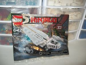 "LEGO   ""THE NINJAGO MOVIE""    ICE TANK  # 30427  NEW POLYBAG"