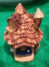 New listing Micro Miniature Dollhouse Fairy Garden Shingletown Cone Top Fairy Home