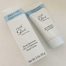 Deborah Lippmann Rich Girl SPF 25 Sunscreen Hand Cream 85g 3oz