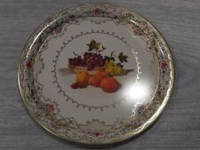 vintage Daher decorated ware dish tin plate, made in Holland