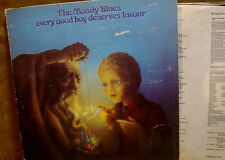 """The Moody Blues 12"""" Every Good Boy Deserves Favour THS 5 Rare Rock LP"""