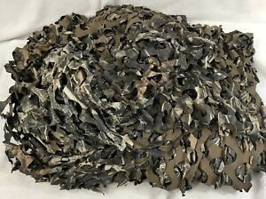Camouflage Netting 25x8 Feet. Very Durable. Stretchable. Excellent Condition.