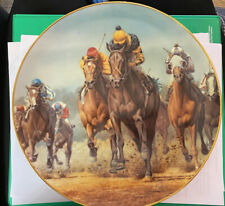 Collector Plate, Kentucky Derby- Seattle Slew, #2294 w/ Coa Fred Stone