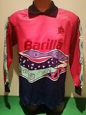 maglia lorieri roma barilla nomatch worn issued REUSCH goalkeeper adidas 1992/93
