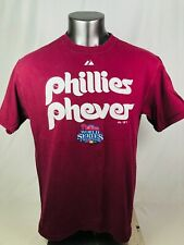 PHILADELPHIA PHILLIES VINTAGE 2008 WORD SERIES CHAMPIONS  T-SHIRT ADULT LARGE